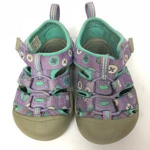 Keen Purple and Teal Girl Sandals